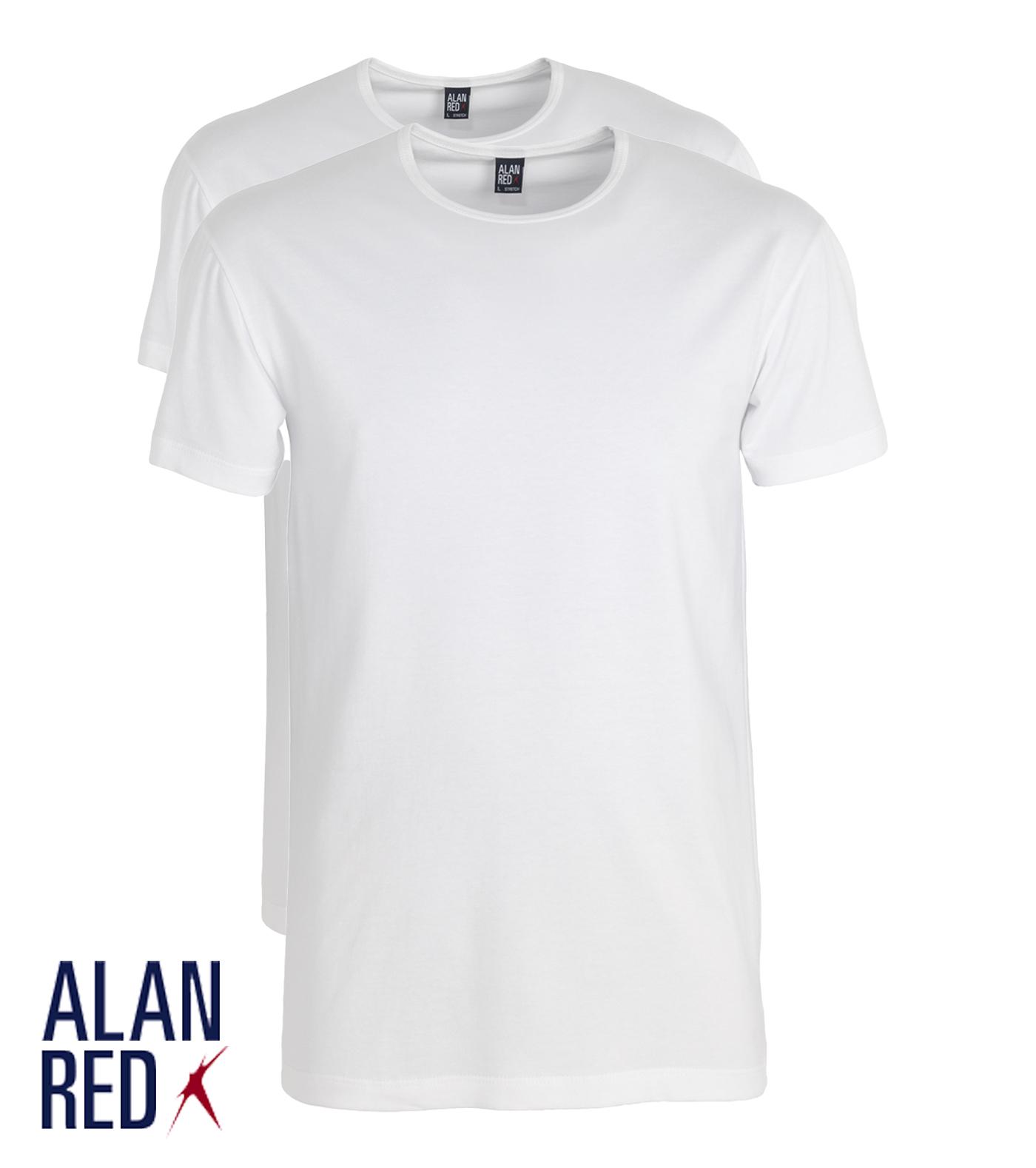 Alan Red - Ottawa stretch - wit 2-pack