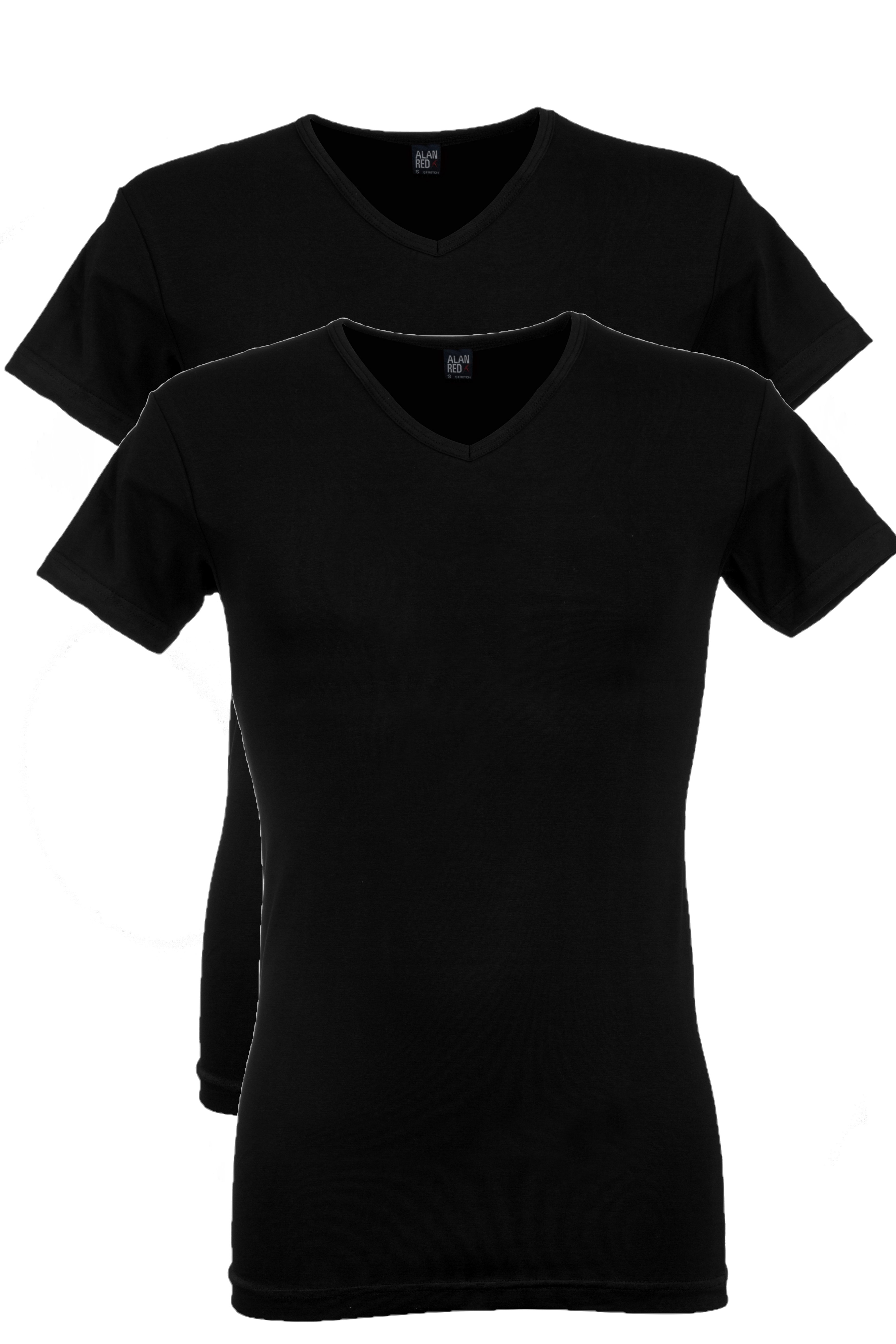 Alan Red Oklahoma stretch - zwart 2-pack